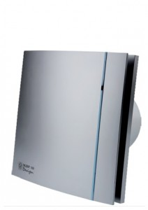 poza Ventilator baie Soler&Palau model SILENT-100 CHZ SILVER DESIGN - 3C
