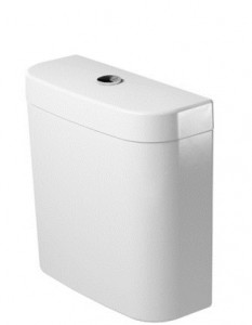poza Rezervor WC Duravit 405mm gama Darling New, alb, alimentare stanga, Dual Flush 6/3l