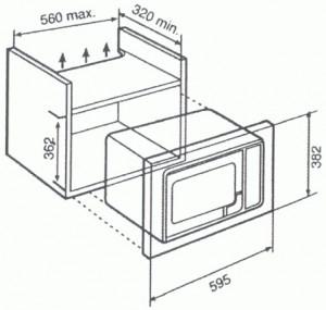 Poza Cuptor cu microunde incorporabil Teka model MWE 20 FI