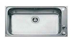 poza Chiuveta bucatarie Teka incorporabila 80x50cm model BAHIA 1B Plus, inox