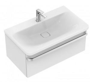 poza Mobilier Ideal Standard pentru lavoar 80cm gama Tonic II, alb lucios