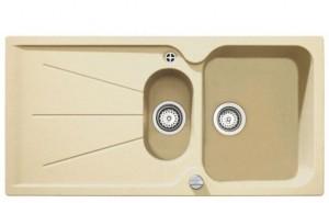 poza Chiuveta bucatarie Teka incorporabila model Cara 60B TG 1 1/2B 1D - Tegranit TOPASBEIGE