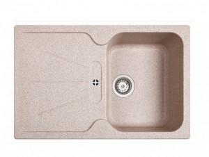 poza Chiuveta bucatarie Teka incorporabila model Cara 45B TG 1B 1D - Tegranit SANDBEIGE