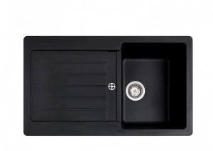poza Chiuveta bucatarie Teka incorporabila model Lugo 45B TG 1B 1D - Tegranit SCHWARZMETALLIC