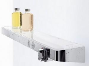 poza Baterie cu termostat universala Hansgrohe gama Select 700, alb-crom