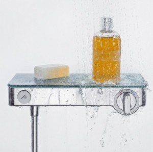 poza Baterie cu termostat dus Hansgrohe gama Select 300, crom