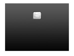poza Cadita de dus Riho rectangulara 120X80cm gama Basel 406, Negru Mat - Crom