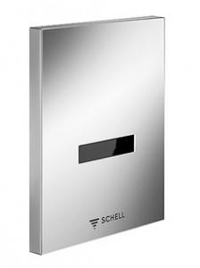 poza Placa de comanda spalare pisoar Schell EDITION E, otel inoxidabil, alimentare retea 230V