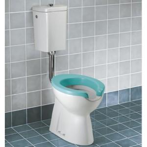 poza WC Dolomite cu scurgere orizontala pentru persoane cu nevoi speciale model ATLANTIS