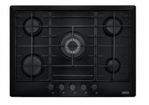 poza Plita pe gaz Franke seria Multi Cooking 700 model FHM 705 4G TC BK E (gratare fonta), neagra