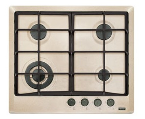 poza Plita pe gaz Franke seria Multi Cooking 600 model FHM 604 3G TC OA C (gratare fonta), avena fragranite