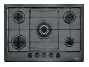 poza Plita pe gaz Franke seria Multi Cooking Mercury 700 model  FHMR 705 4G TC GF E, grafite fragranite