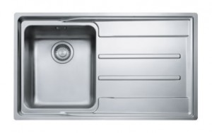poza Chiuveta de bucatarie 864x514mm cu picurator dreapta Franke seria Aton model ANX 211-86 Inox Satinat