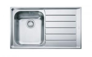 poza Chiuveta de bucatarie 860x510mm cu picurator dreapta Franke seria Neptune model NEX 611 Inox Satinat