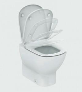 poza Vas WC fixare in pardoseala Ideal Standard gama Tesi AquaBlade, alb, BTW