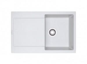 poza Chiuveta de bucatarie 780x500mm Franke seria Maris model MRG 611 Bianco
