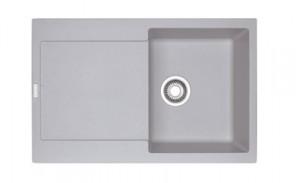 poza Chiuveta de bucatarie 780x500mm Franke seria Maris model MRG 611 Alluminio Fragranite