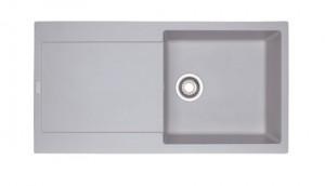 poza Chiuveta de bucatarie 970x500mm Franke seria Maris model MRG 611-L Alluminio Fragranite