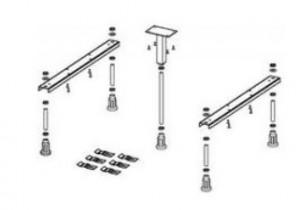 poza Picioare pentru cadita Riho model Basel 406 & 416 & 432