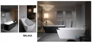 poza Cada freestanding 160x75 cm Riho model Malaga