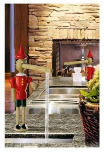 poza Baterie pentru bucatarie Emmeviseria  Pinocchio color O.Z