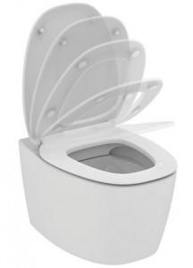 poza Vas WC suspendat Ideal Standard gama Dea, alb, capac inchidere lenta O.Z