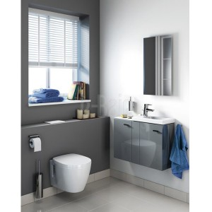 poza Vas WC suspendat Ideal Standard gama Connect Space, alb, proiectie scurta 48cm