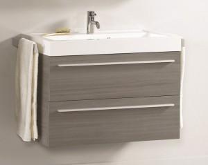 poza Ansamblu mobilier Riho cu lavoar 60cm gama Bologna, SET 52 Standard