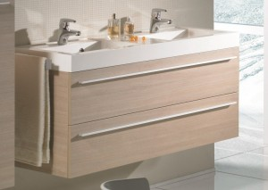 poza Ansamblu mobilier Riho cu lavoar 140cm gama Bologna, SET 64 Standard