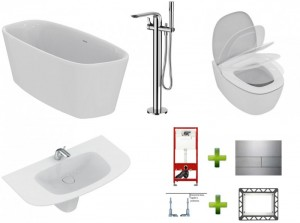 poza Pachet baie completa Ideal Standard conceptul Dea