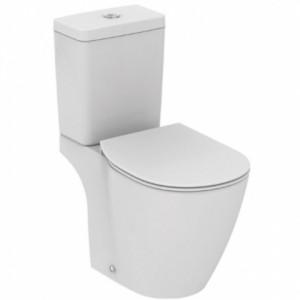 poza Vas wc pe pardoseala AquaBlade cu decupaj, cu rezervor si capac Soft Ideal Standard
