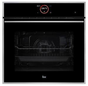 poza Cuptor multifunctional 60 cm Teka Model iOVEN Inox anti pata/ cristal negru