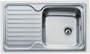 Poza Chiuveta bucatarie Teka incorporabila 86x50cm model Classic 1B 1D Inox Microtexturat