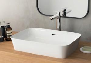 poza Lavoar Ideal Standard de pus pe blat model Ipalyss 55x38x14.5 cm, bowl