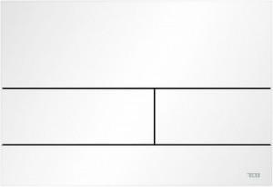 poza Clapeta Tece Square doua butoane, alb mat