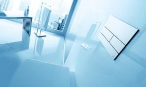 poza Pachet TECE Square cadru WC , clapeta actionare si sistem montaj
