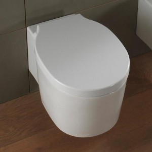 poza Vas WC  Scarabeo model Bucket alb