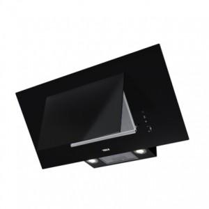 poza Hota Teka DVT 98660 TBS, FreshAir, 90 cm, timer, paravan sticla neagra