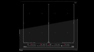 poza Plită electrică cu inducţie TEKA IZF 68600 MSP, 7 zone de gatit, 60 cm,Cristal Negru