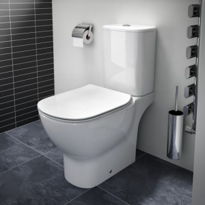 poza Vas WC Ideal Standard complet cu rezervor si capac soft close model Tesi, Tehnologiue Aquablade