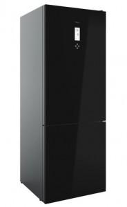 poza Combină frigorifică Free Standing, finisaj Cristal negru, clasă energetică: A+ +, 190x70 cm