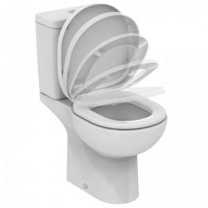 poza Vas WC ideal Standard complet cu capac soft close, alimentare rez. inferioara