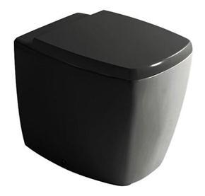 poza WC negru Galassia gama Meg11
