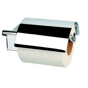 poza Suport hartie WC cu capac cromat Nexx