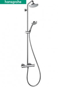 poza Showerpipe Hans Grohe Croma