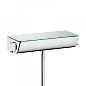 poza Baterie Hansgrohe pentru dus cu termostat model Ecostat Select, alb/crom